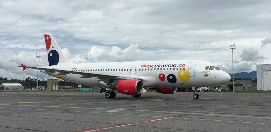VivaColombia reporta caída de 14,15 % de transporte de pasajeros a Panamá