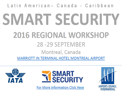 IATA y ACI organizan conferencia sobre Smart Security