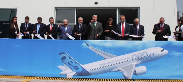 Inauguran en México el primer Centro de Formación de Airbus en Latinoamérica