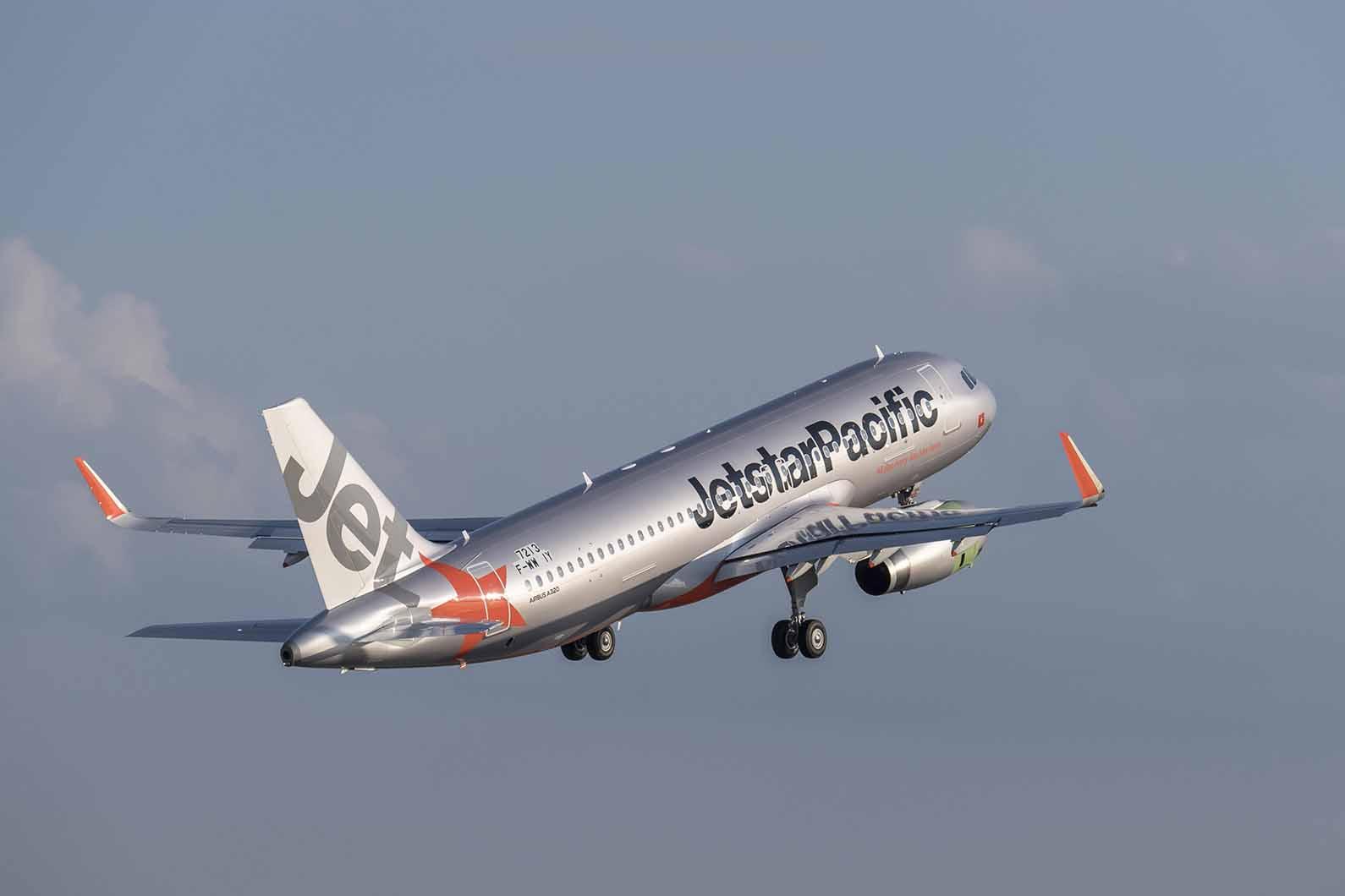 Jetstar Pacific recibe un nuevo Airbus A320ceo