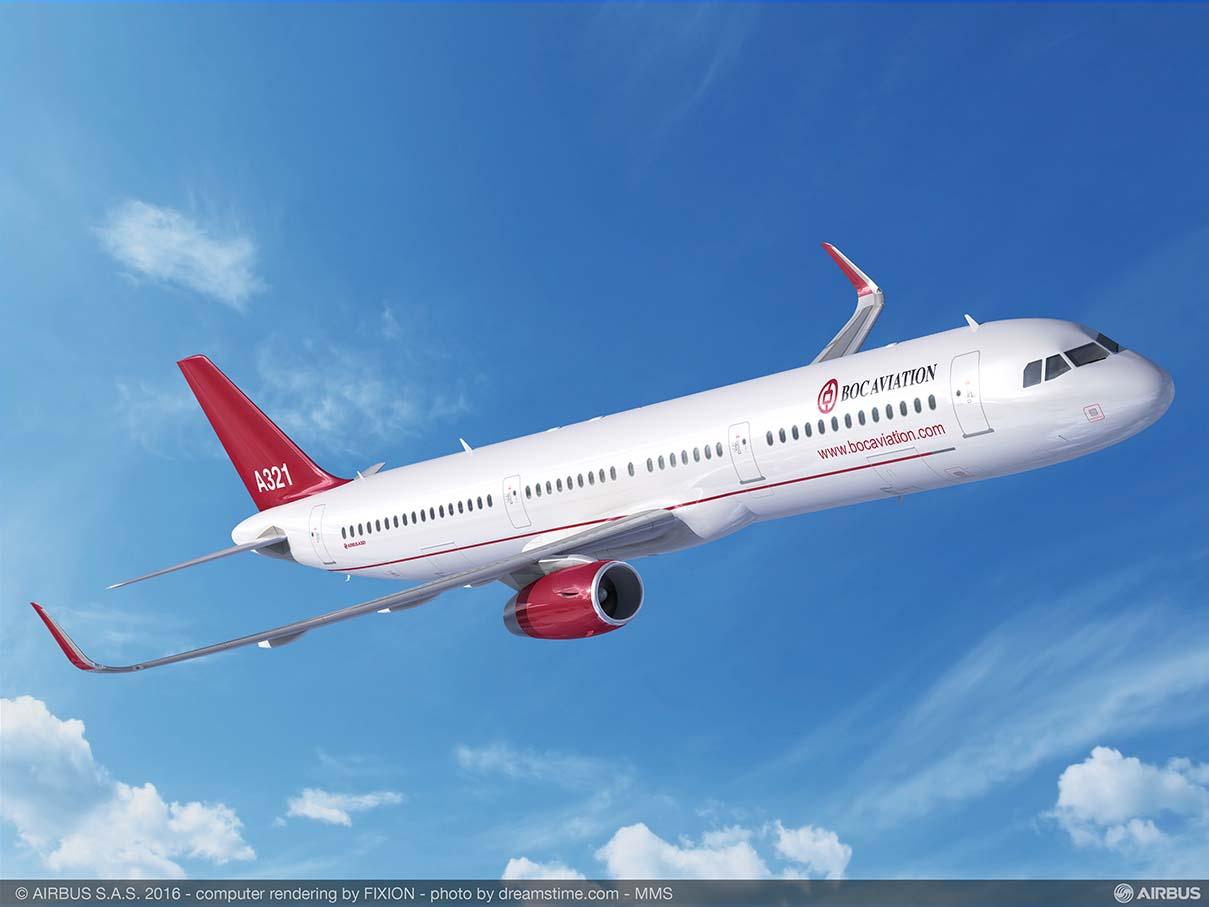 BOC Aviation encarga cinco A321ceo