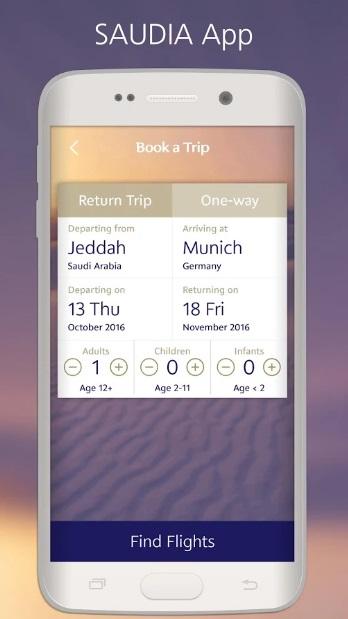 Saudia Airlines lanza nueva aplicación para dispositivos con sistema Android