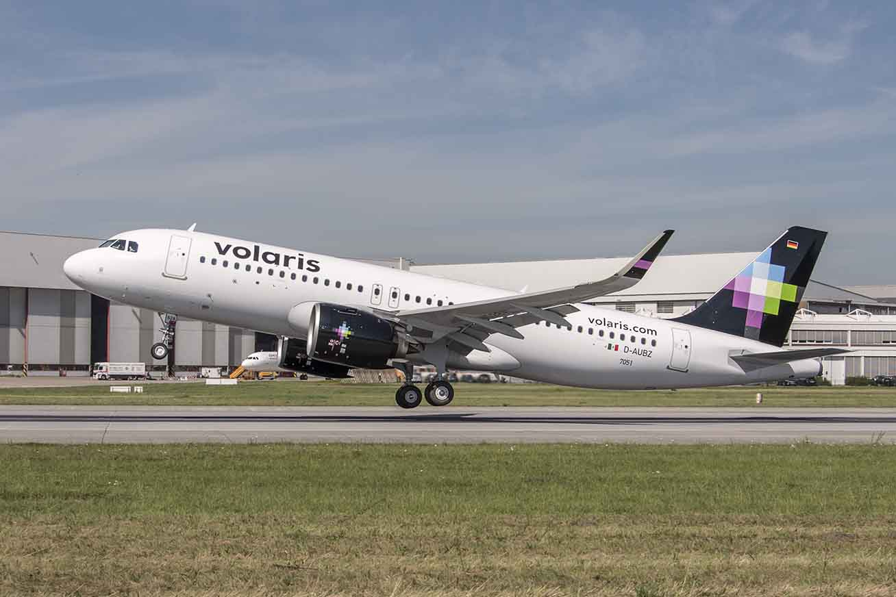 Aumenta Volaris operaciones desde CDMX