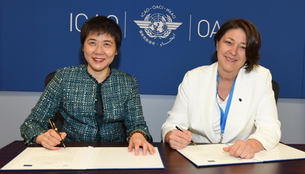 ICAO and the European Union renew environmental partnership for a sustainable international aviation