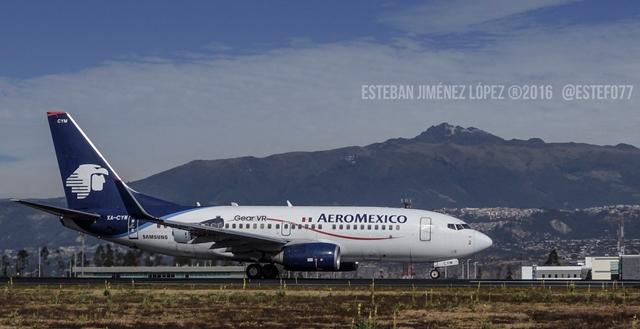 Aeroméxico transporta 10 millones de pasajeros en 2017