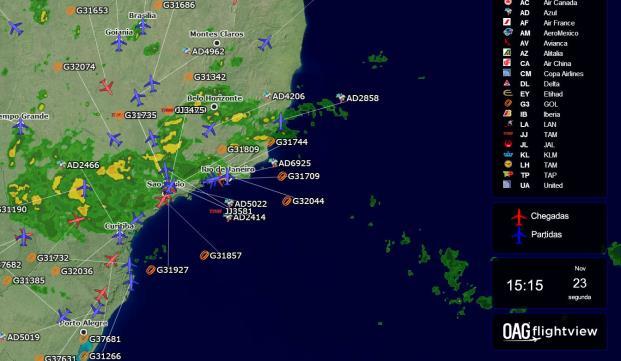 Controle las interrupciones de viaje con solo dar un vistazo a la información del estado de vuelos en tiempo real
