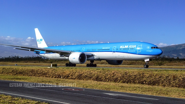 KLM commences flights to Costa Rica
