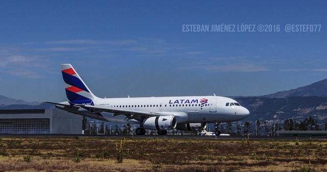 LATAM respalda decreto de cielos abiertos para aeropuertos de Ecuador