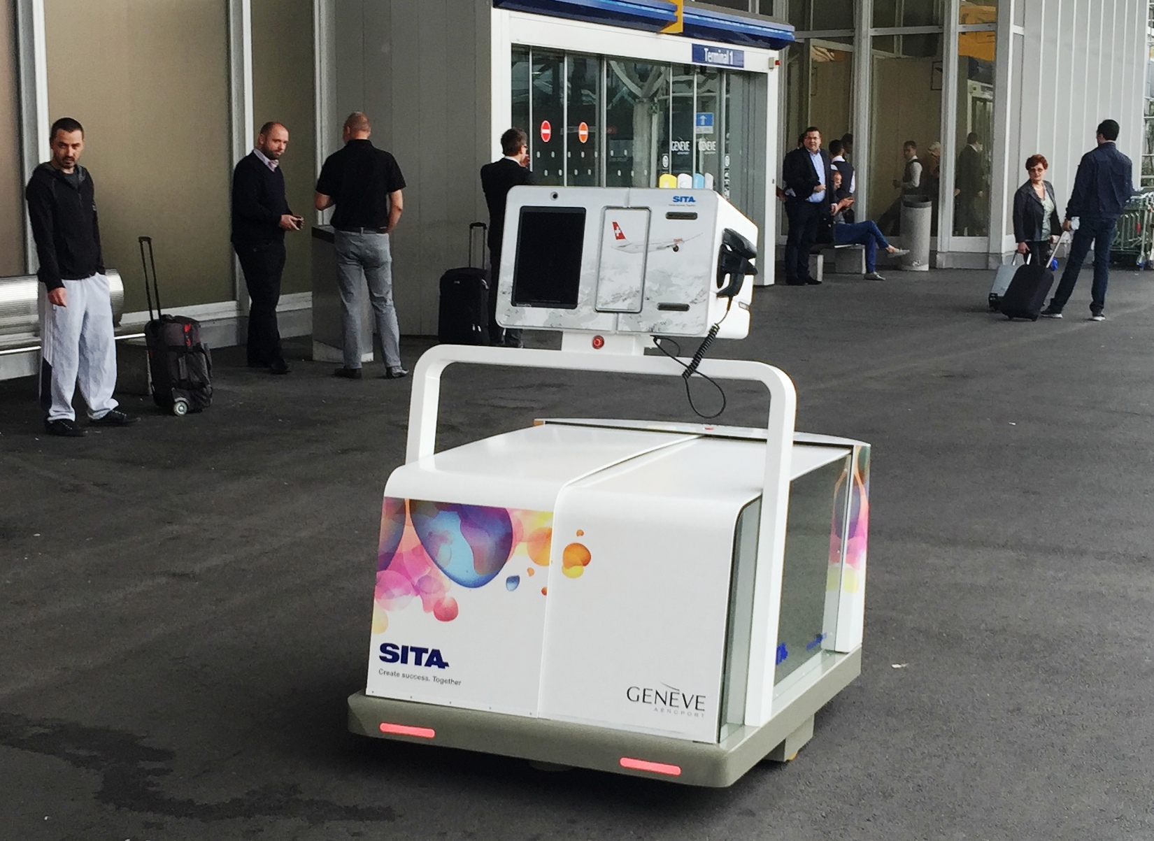 Leo, el robot para equipajes de SITA, ha llegado al aeropuerto más concurrido de Río