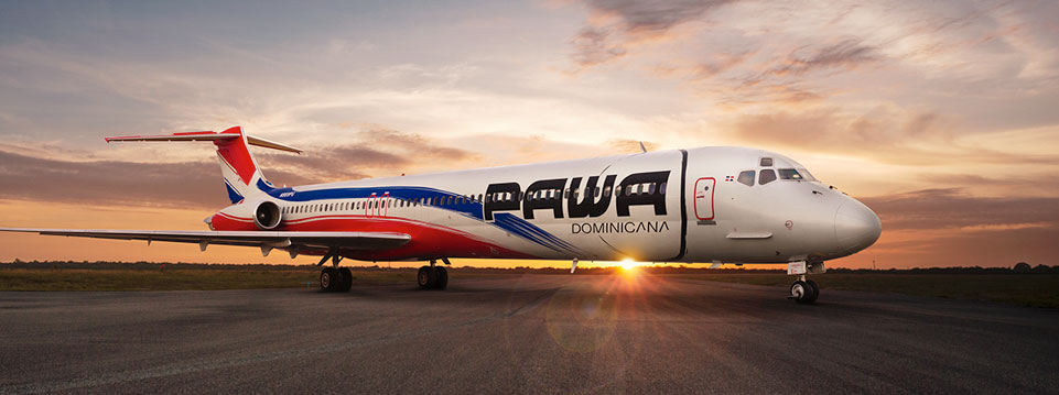 Aerolínea Pawa Dominicana inicia servicio de transporte de carga hacia Miami