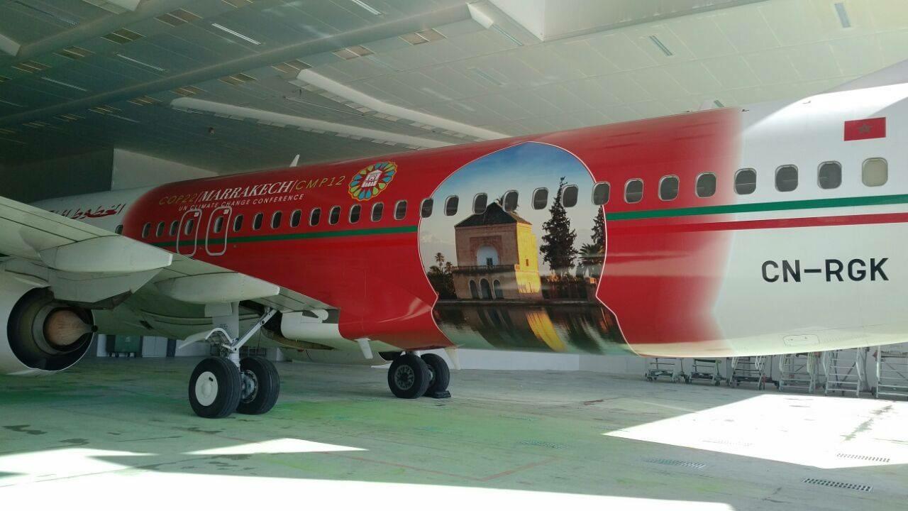 Royal Air Maroc, transportista oficial exclusivo de la COP22