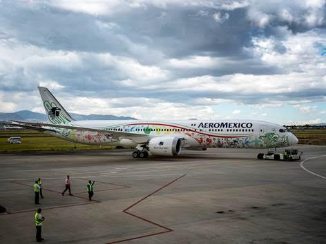 Aeromexico 10th anniversary of its Shanghai-Mexico city flight