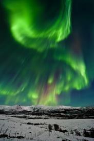 Las Auroras Boreales, principal reclamo para el turista español
