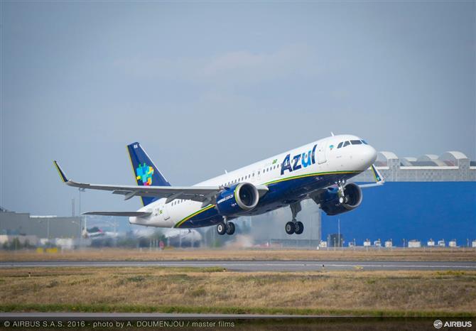 Azul volta a adiar utilização do A330NEO nas rotas de Lisboa, Orlando e Fort Lauderdale