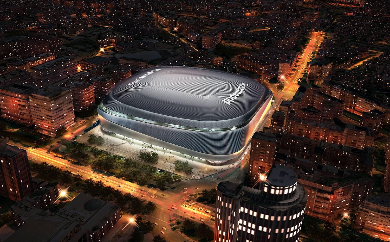 El nuevo Bernabéu: fachada y cubierta futuristas y un posible hotel de lujo