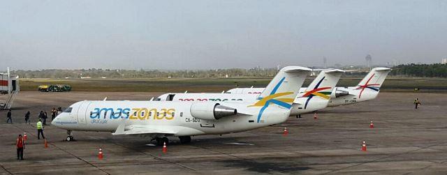 Amaszonas Uruguay recibió en Montevideo su segundo avión