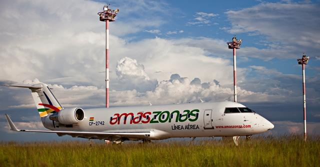Amaszonas comenzará a volar de Salta a Asunción e Iquique