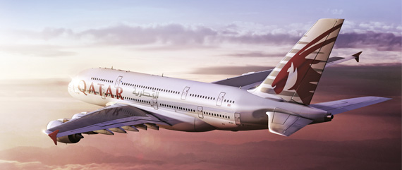 Qatar Airways, considerada como la mejor aerolínea del mundo por los viajeros