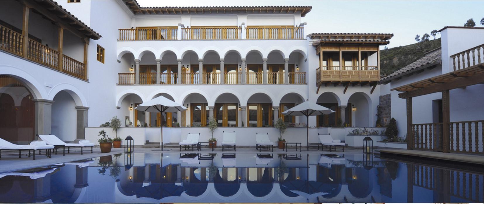 Belmond Palacio Nazarenas fue reconocido como el mejor hotel 5 estrellas de Cusco