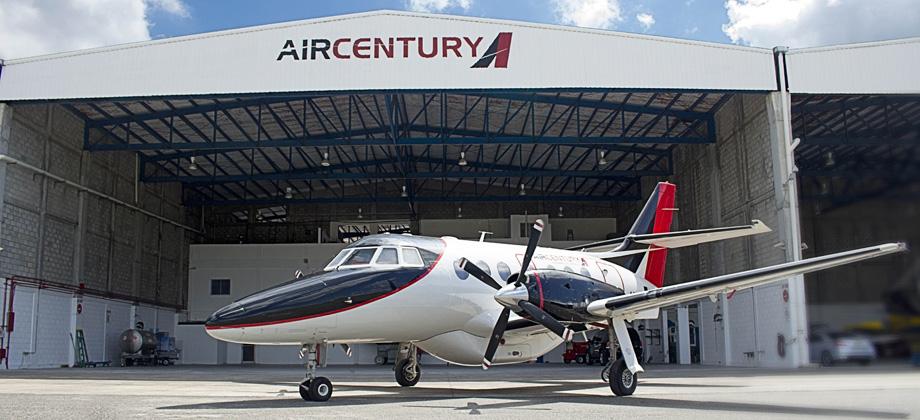 Aerolínea Air Century inaugura ruta Santo Domingo-San Juan