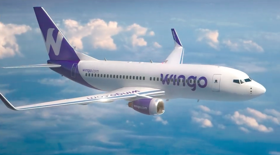 Wingo evalúa ampliar capacidad a Santo Domingo con un Boeing 737-800