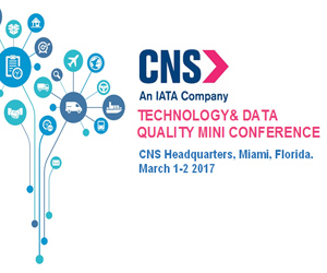 CNS invita al Technology & Data Quality Mini Conference de IATA