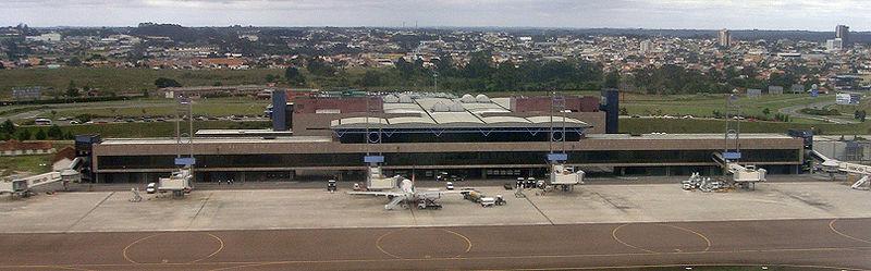 Aeroporto de Curitiba é eleito o melhor do Brasil em 2016