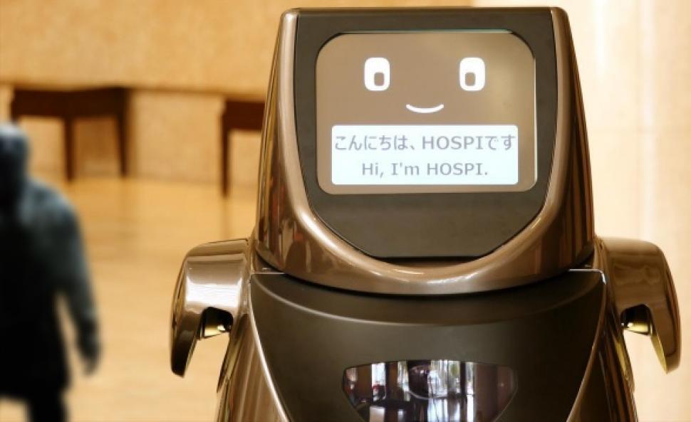 Panasonic entra a la competencia y pone robots a atender aeropuertos y hoteles