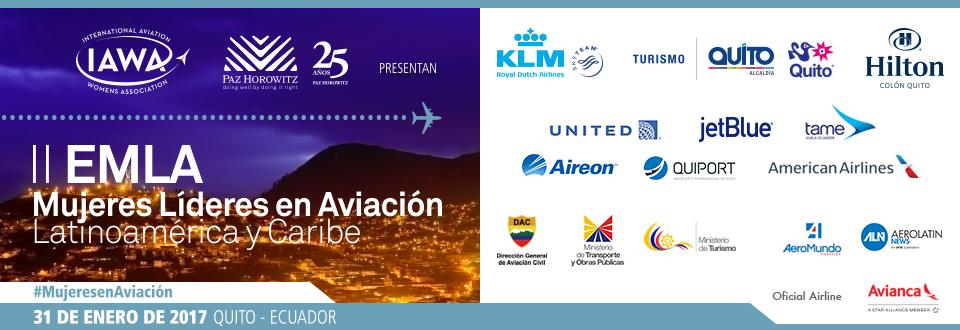 Quito albergará 2do Encuentro de Mujeres Líderes de Aviación – América Latina y El Caribe