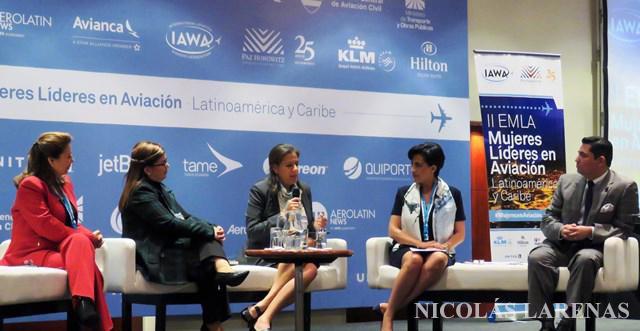 """Las mujeres se tomaron la industria aérea latinoamericana en el segundo encuentro """"Mujeres Líderes en Aviación"""""""