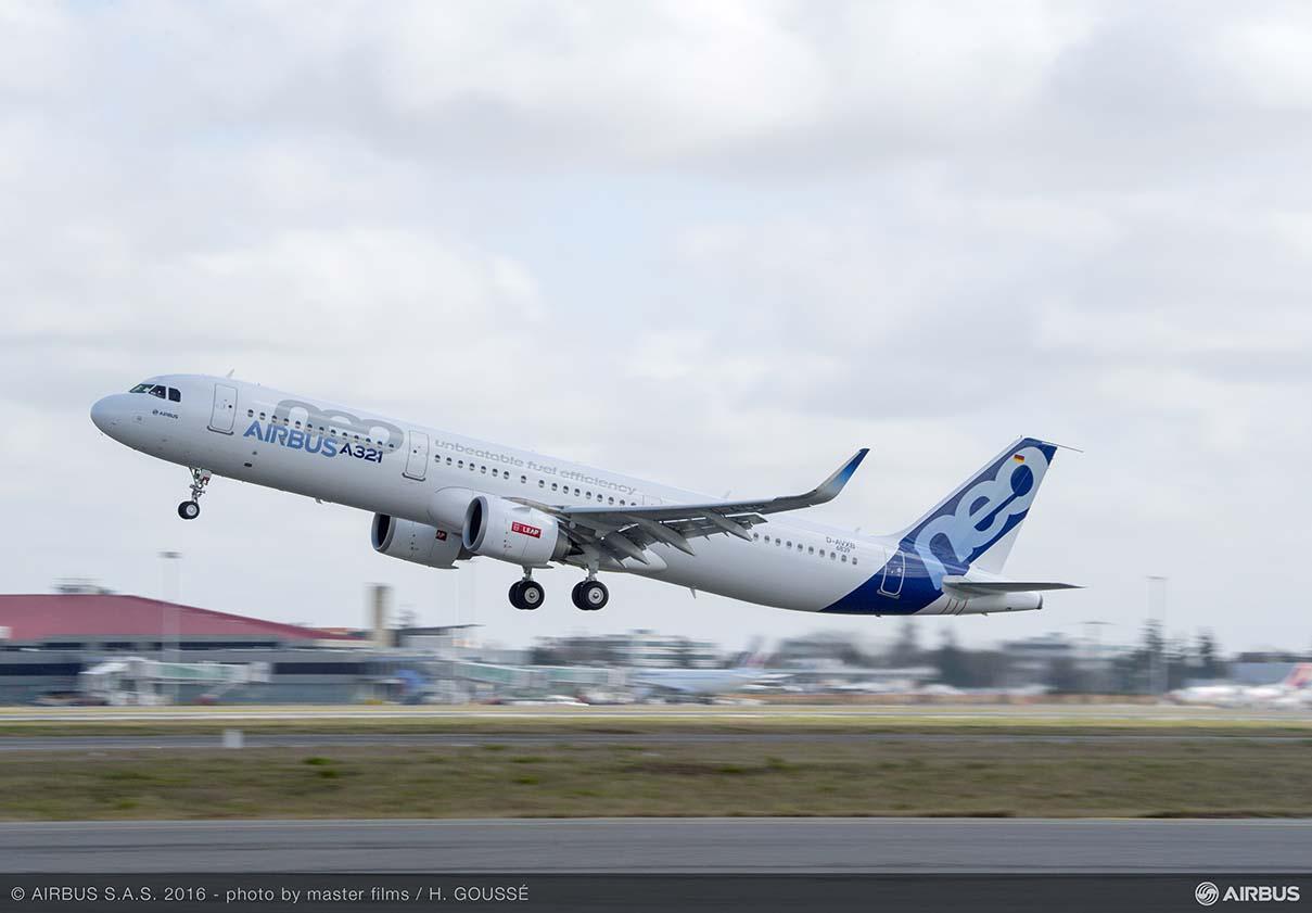 Airbus apunta a 2021 para terminar con los problemas de producción de A321neo
