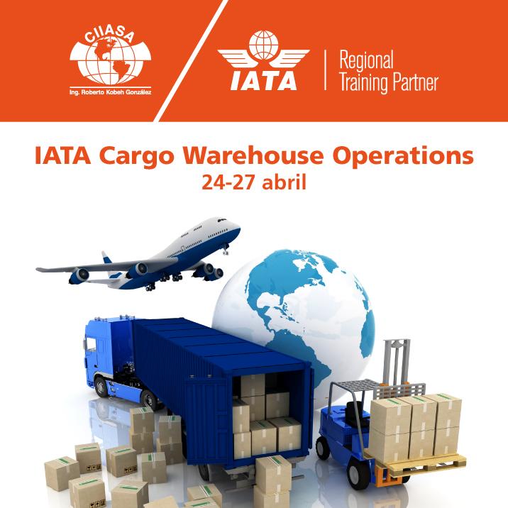 ASA y IATA impartirán curso en materia de operación de almacenes y carga aérea