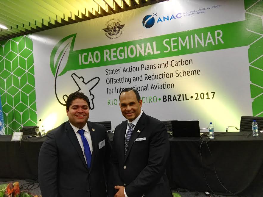 IDAC participa en seminarios sobre planes de acción y Esquema de Compensación y Reducción de Carbono de la Aviación Internacional