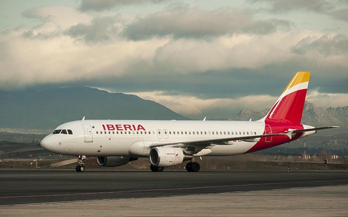 Iberia incrementará 40% su capacidad entre Madrid y Montevideo