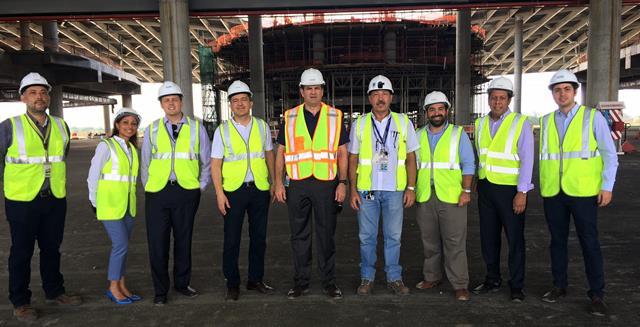 Positivo balance de FAA, ACI-LAC y IATA tras recorrido a proyecto de construcción de nueva terminal de Tocumen en Panamá