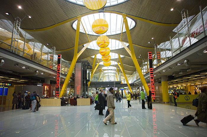 El aeropuerto de Barajas también gana la Champions