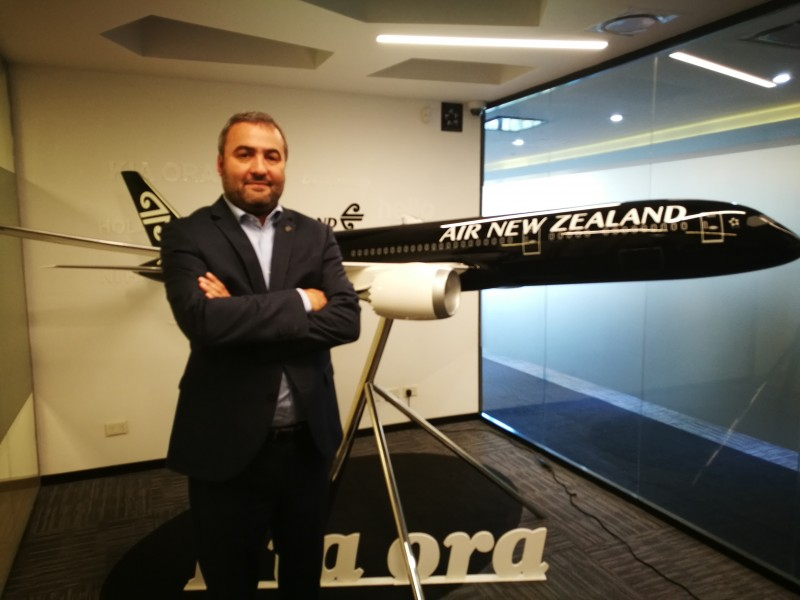 «Esperamos que se logre estabilizar las variables económicas»: Alex Obaditch, Gerente General de Air New Zealand para Sudamérica