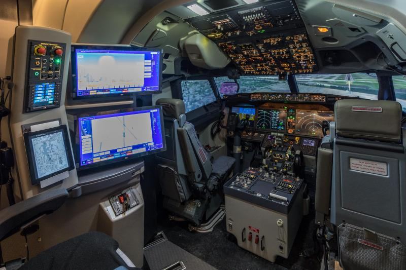TRU Simulation + Training Qualifies Second Boeing 737 MAX Full Flight Simulator