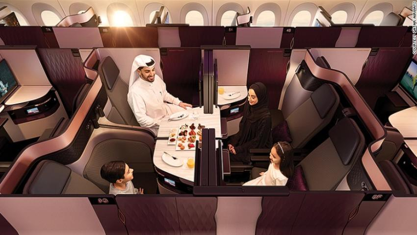 Qatar Airways Qsuite Business Class On Boeing 777 Takes On A380 Offerings