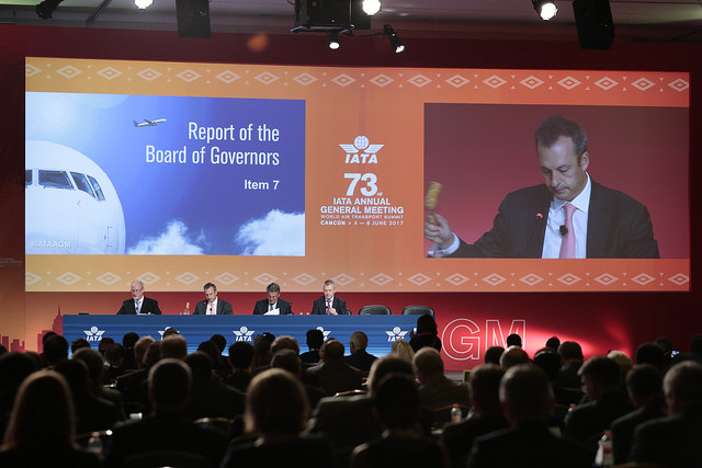 IATA cierra su 73 asamblea en Cancún y anuncia que la próxima será en Sídney