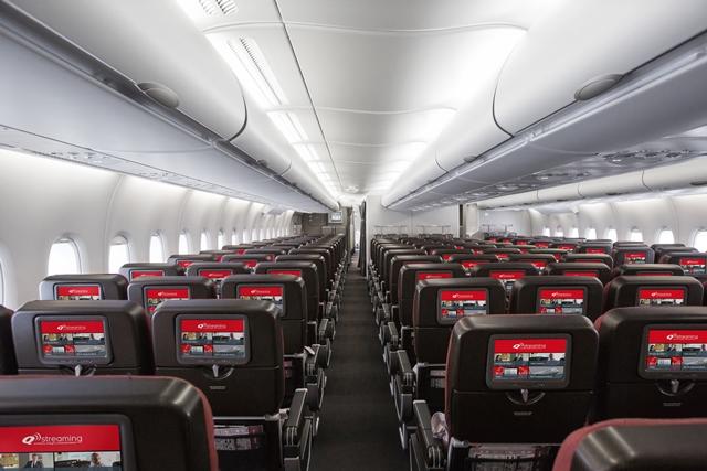 Qantas: Bloquear el asiento del medio llevaría a aumentar nueve veces las tarifas