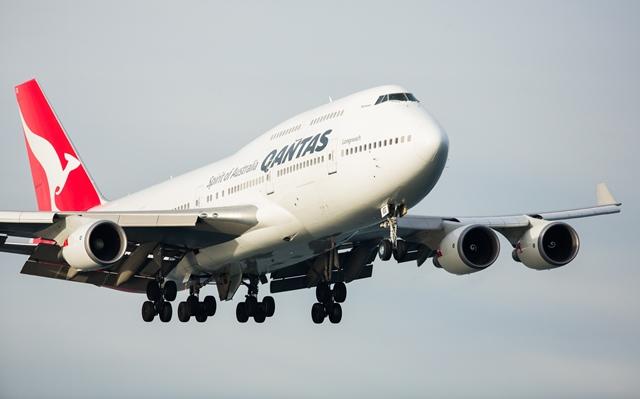 Qantas acelera la jubilación de sus B747