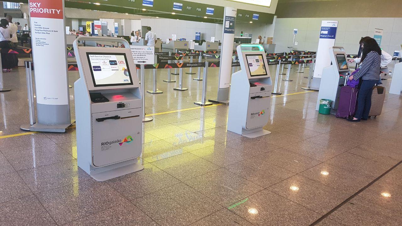 Riogaleão oferece autoetiquetagem de malas em quiosques da SITA
