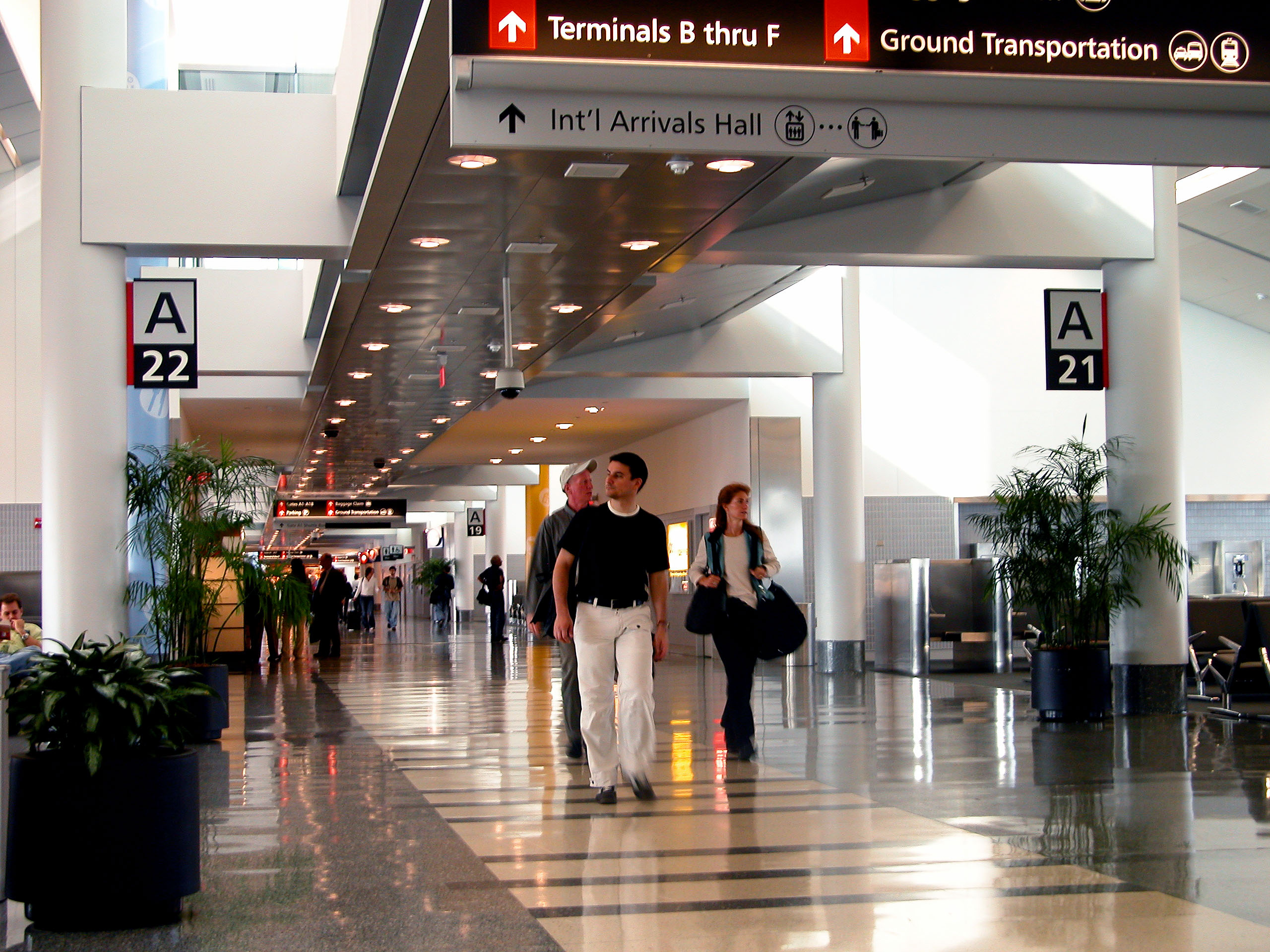 Rosario airport new terminal – first phase