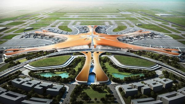 Planean mudanza de aerolíneas al nuevo aeropuerto de Pekín