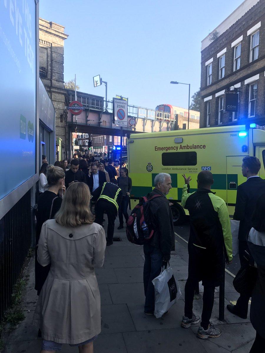 Un artefacto de fabricación casera causó explosión en Londres