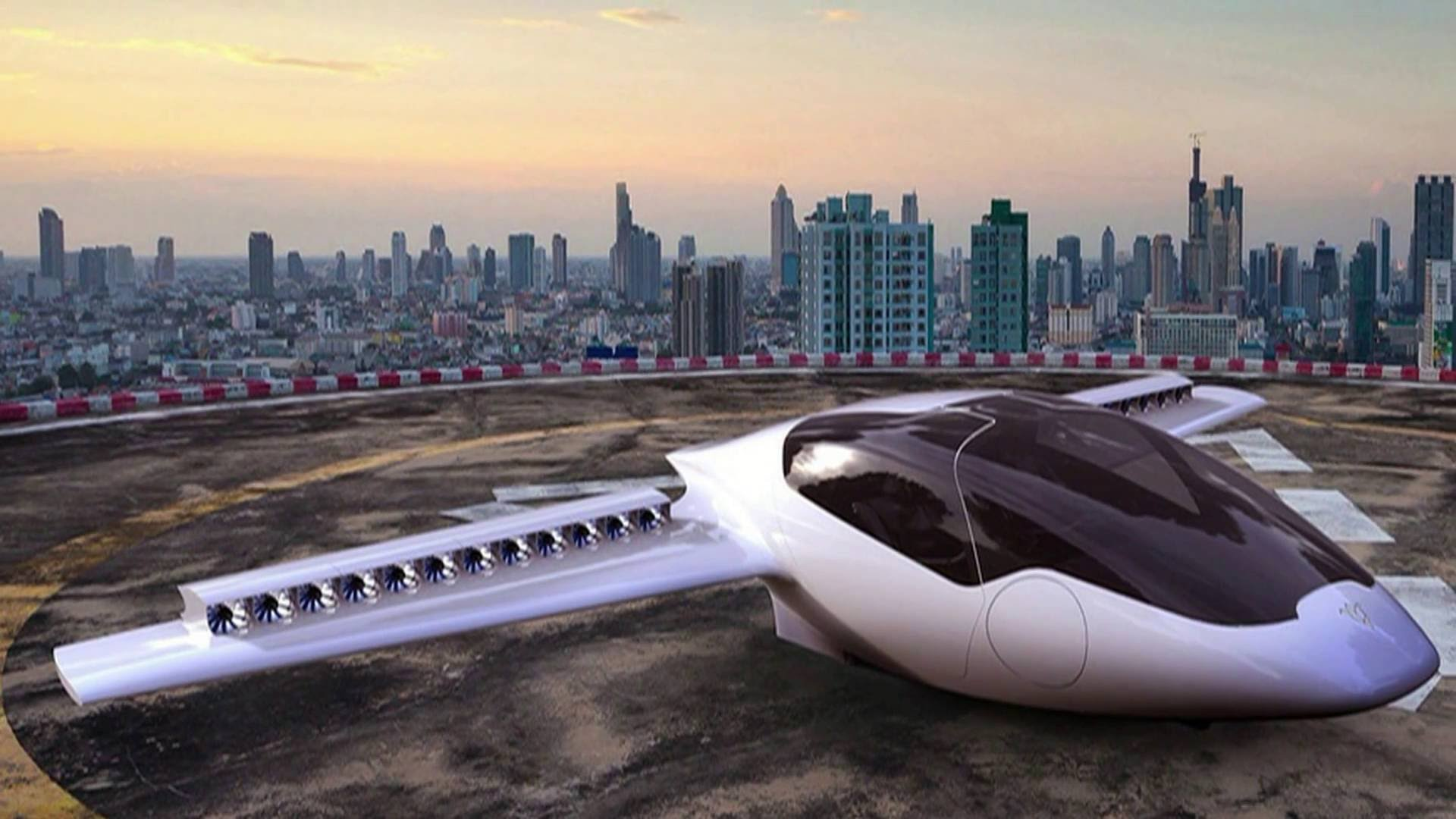El taxi volador alemán atrae a grandes inversores mundiales