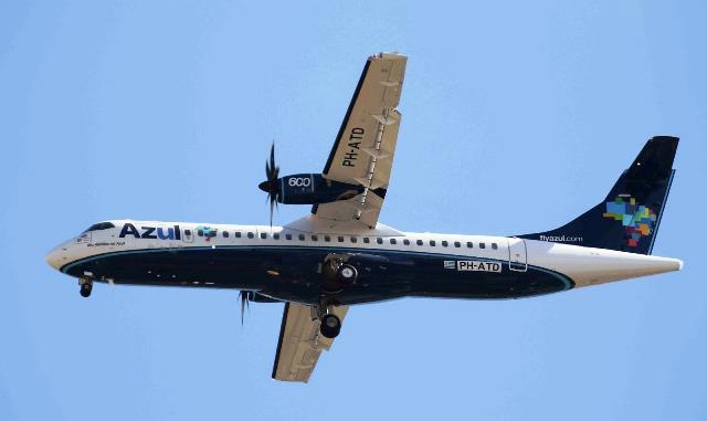 Azul adquirió tres aviones para sus operaciones en el Uruguay