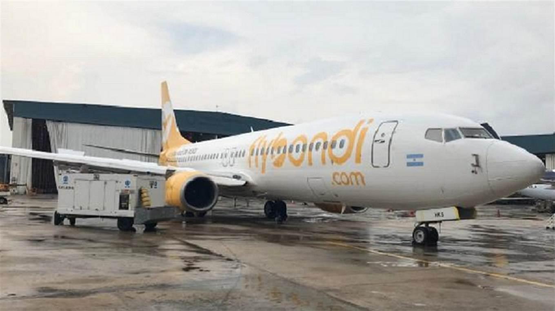 Flybondi transportó más de 2.000 pasajeros durante el paro nacional