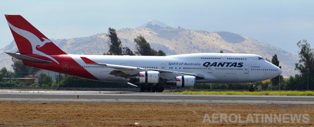 Qantas conecta con vuelo directo Australia y Reino Unido